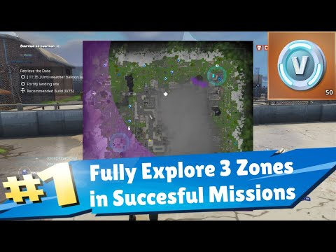 Exploration Party Fully Explore 3 Zones in succesful Mission Save the World