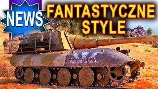 Fantastyczne skórki w paczkach i nowy czolg - World of Tanks