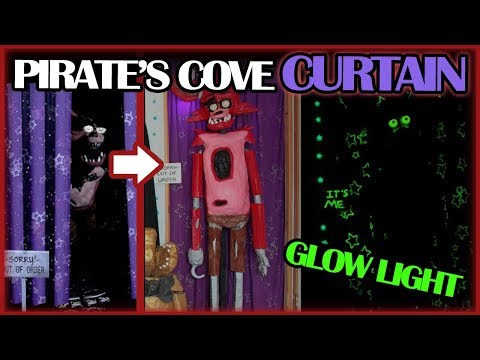 Easy Pirates Cove Curtain Tutorial! (FNAF)