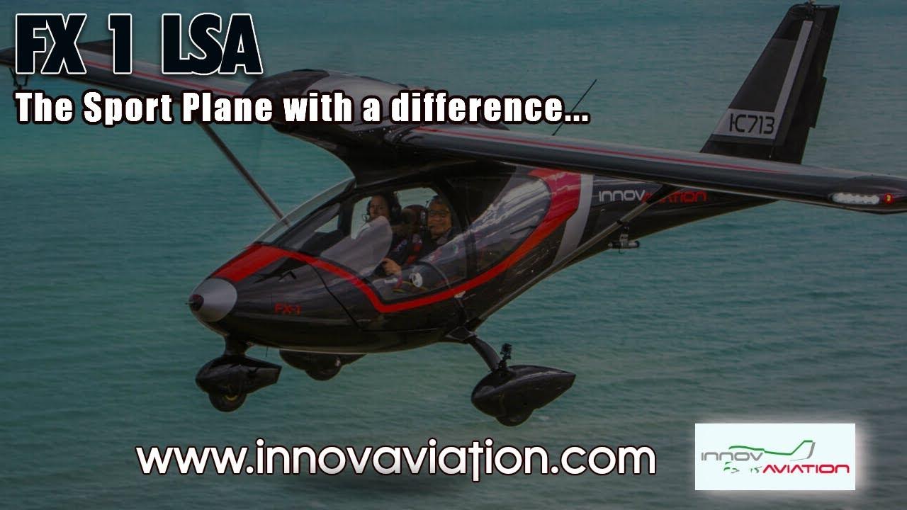 FX 1, FX1 Special Light Sport Aircraft, Innovaviation Aircraft, Midwest LSA  Expo 2019