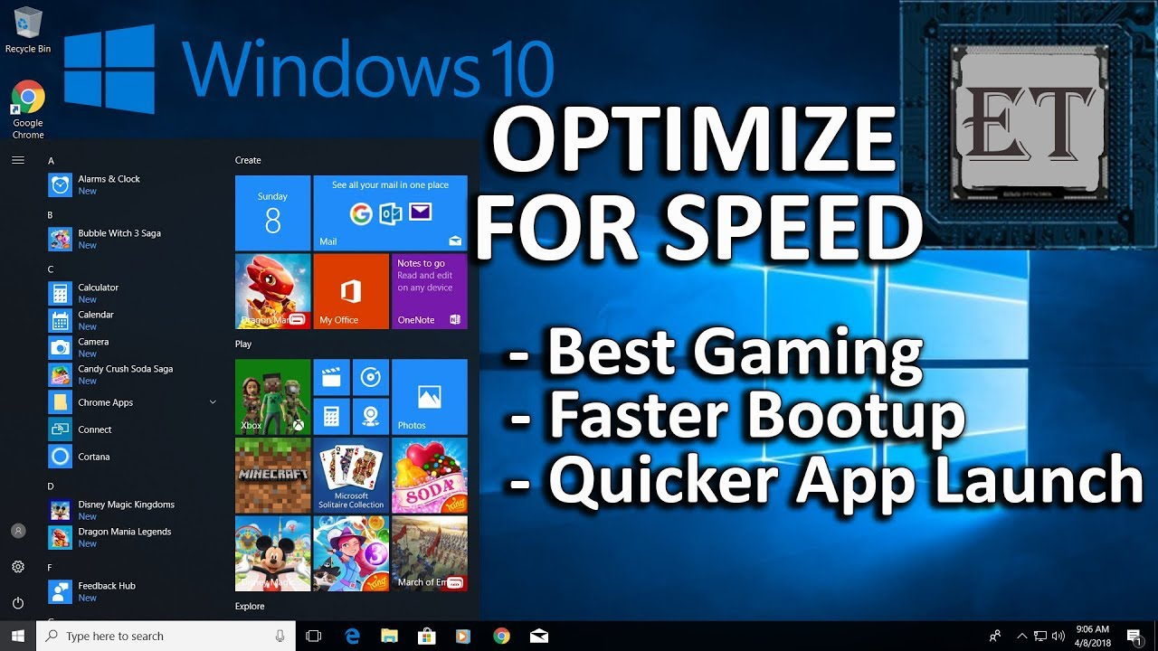 How to Speed Up Your Windows 10 Performance (Best Settings for Gaming -  Free & Easy)