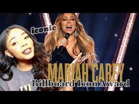 Mariah Carey- Icon Award Performance BBMA'S  (Reaction)