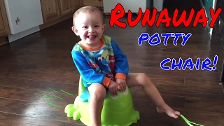 Runaway Potty Chair