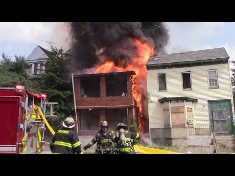 Paterson Fire Department 2nd Alarm Working Fire Rosa Parks Ave 8-19-15