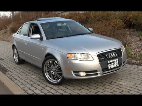 Audi A T B Quattro Test Drive Review YouTube - Audi a4 2006