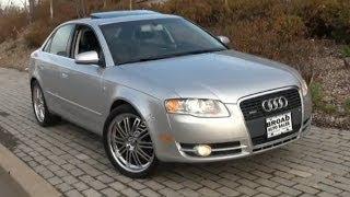 2006 Audi A4 2.0T B7 Quattro Test Drive & Review