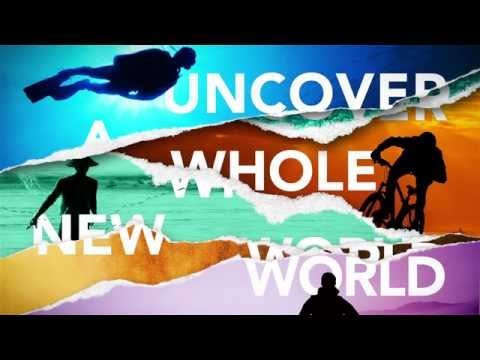 Uncover a whole new world of English