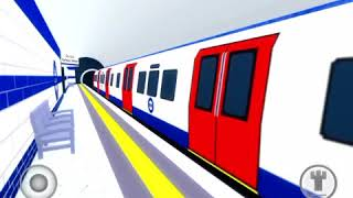 ROBLOX Mind The Gap Tube ride from dellgate interchange to wisley. 2009 Stock Train.