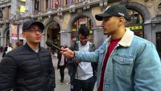 HOEVEEL GELD HEB JIJ OP JE REKENING?? (ANTWERPEN) - SUPERGAANDE INTERVIEW