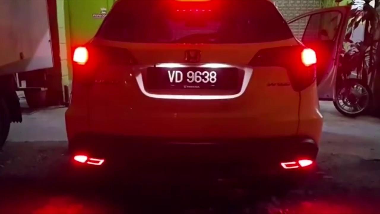 medium resolution of honda hrv rear bumper led brake light
