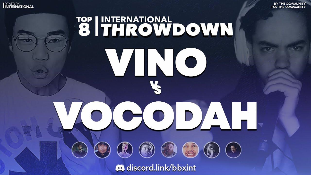 VINO 🇨🇦 vs VOCODAH 🇺🇸   Top 8   International Throwdown