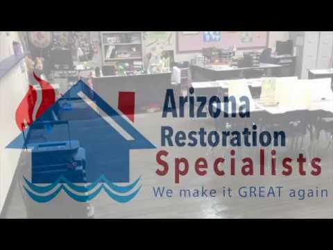 Water Damage Restoration in Phoenix ~ Arizona Restoration Specialists ~ Flood & Fire Experts AZ