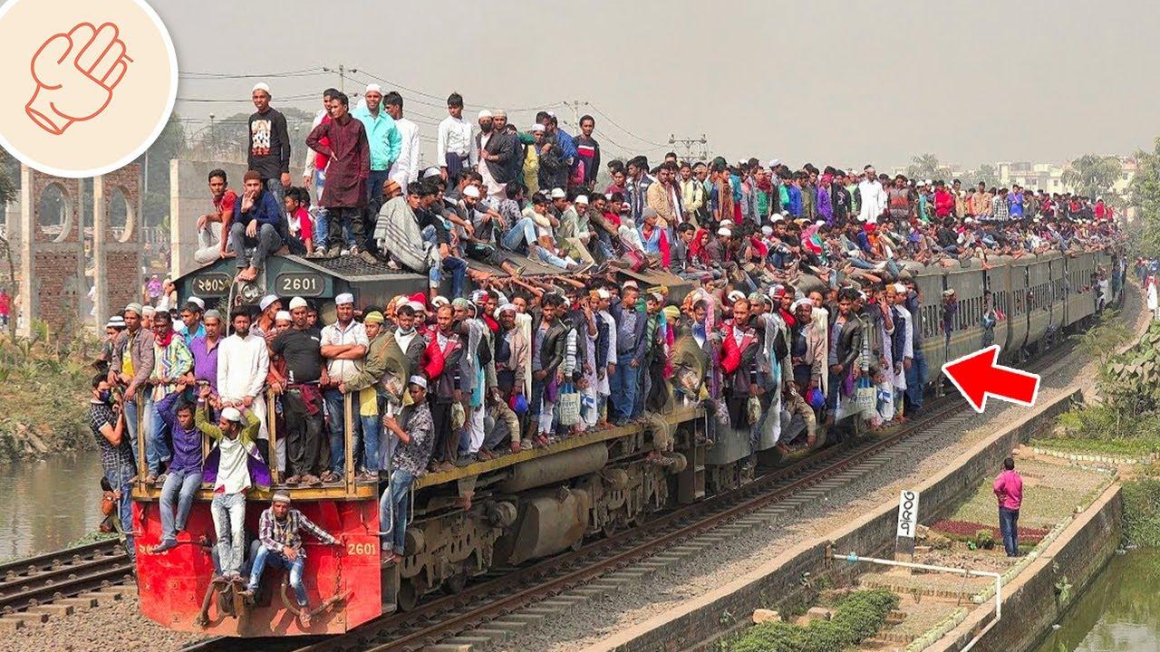 爆滿火車!世界上最極端又恐怖的鐵路