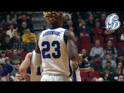 Drake Men's Basketball vs. Iowa Highlight