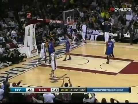 LeBron James alley oop, best dunk of the year?