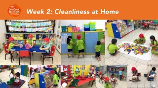Start Small Dream Big 2020: Week 2 - Caring for Friends and Family (Cleanliness at Home)