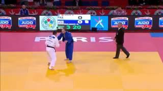 Judo Grand Slam Paris 2013: -90kg IDDIR, Alexandre (FRA) -  SULEMIN, Grigorii (RUS)