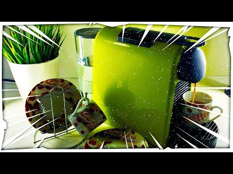 Nespresso Essenza Mini Machine Unboxing - Lime Green Color