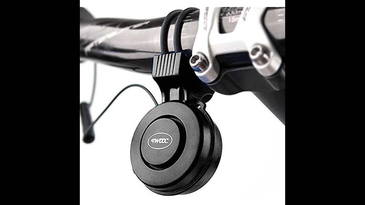 CEDITA Electric Bike Horn Electronic Bicycle Bell 120 DB Waterproof 3 Sound Modes with Rechargeable Battery