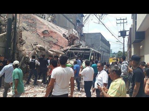 Reportan 42 fallecidos en Morelos por sismo