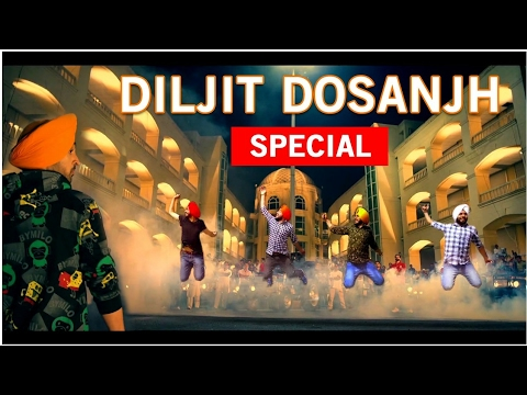 DILJIT DOSANJH SPECIAL || BHANGRA COVER || THE CHOCOLATE BOY || All time fav's || Phillauri Boy ||