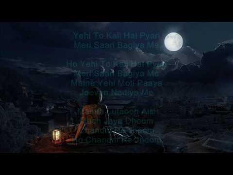 Chandni Re Jhoom - Nauker - Lata Mangeshkar - Full Karaoke