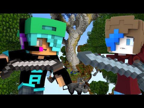 MINECRAFT LUCKY ISLANDS | WHACK A BUNNY | RADIOJH GAMES & GAMER CHAD