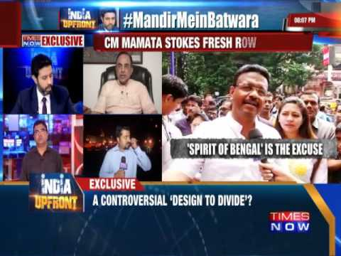 Does Mamata Banerjee have the right to upset Hindus ? - Times Now.