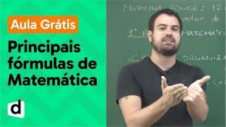 AO VIVO | PRINCIPAIS FÓRMULAS DE MATEMÁTICA PARA USAR NO ENEM | DESCOMPLICA