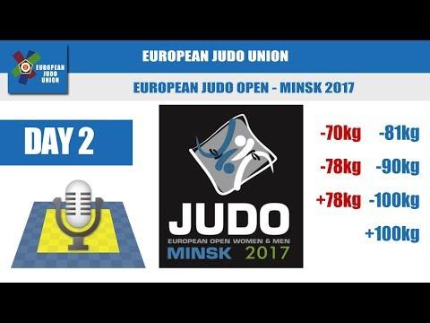 European Judo Open - Minsk 2017 - Day 2