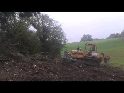 Bulldozer fiat-allis FD14
