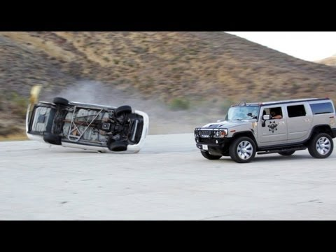 Car Rollover  Behind the s Stunt Feature