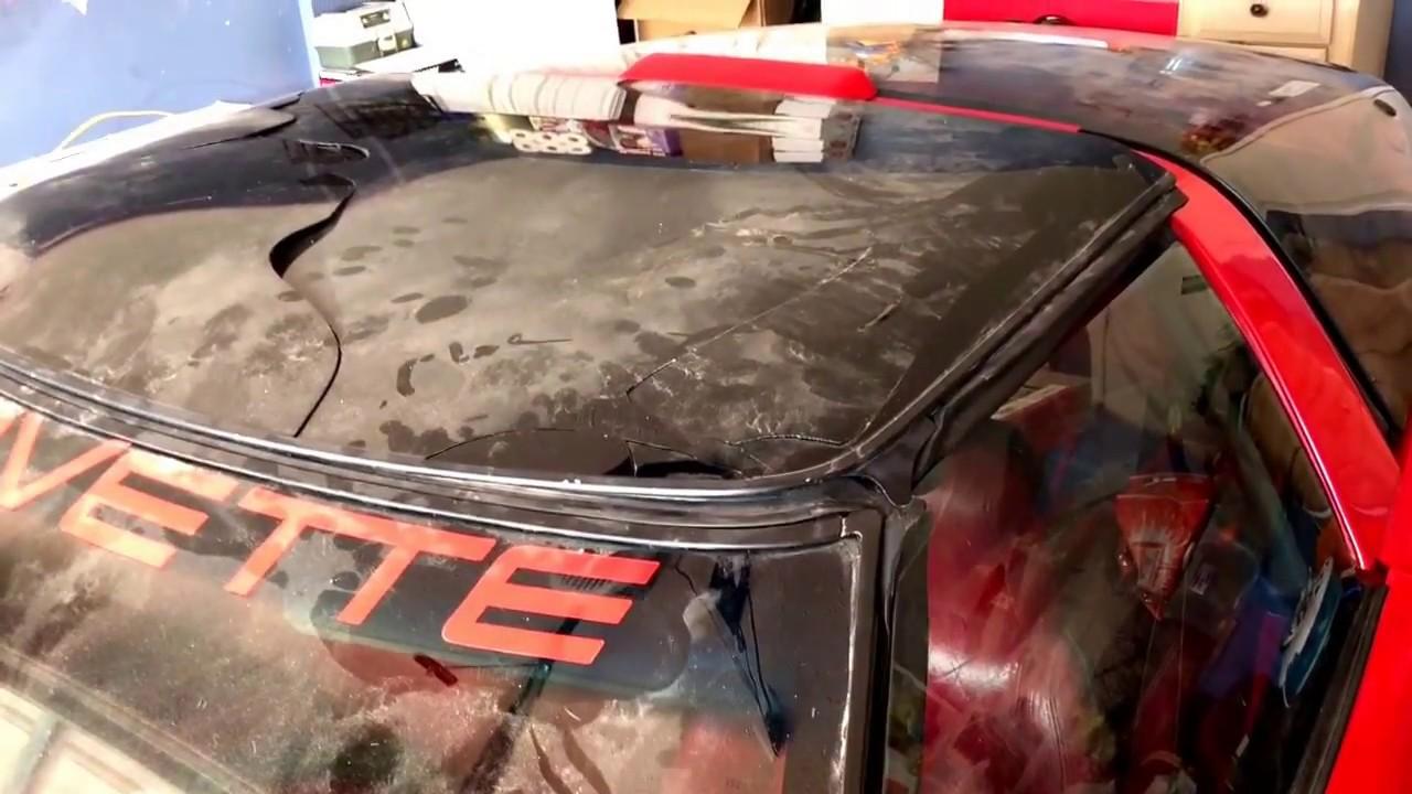 How To Repair Your Broken Corvette Targa Top For 60 Bucks Youtube