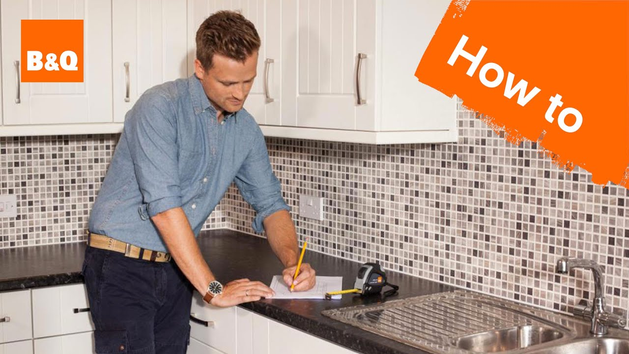 B&q Kitchen Design Jobs How To Measure A Kitchen Youtube