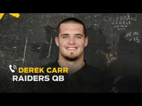 Derek Carr talks injury, Raiders' Super Bowl hopes and more | THE HERD (FULL INTERVIEW)
