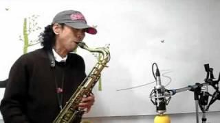 목포의눈물 - 손다 Saxophone
