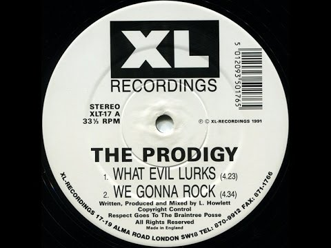 RAVE SAMPLE SOURCE #10-THE PRODIGY-WHAT EVIL LURKS.