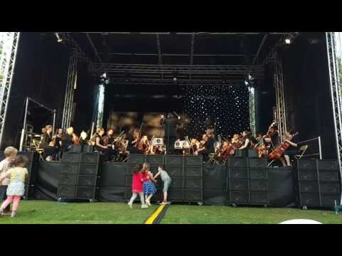 Harry Potter by Sheffield Philharmonic Orchestra at Music in the Gardens Sheffield 2017