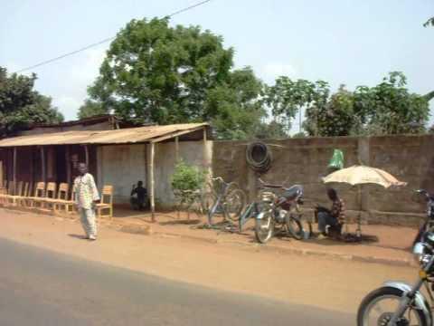 Lomé en moto