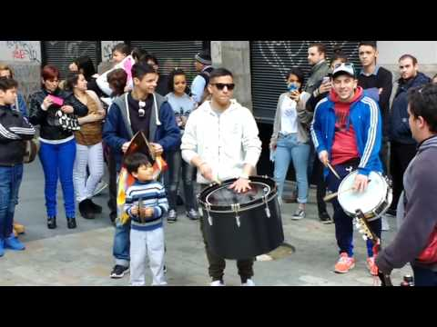 Uruguay (Montevideo) Music-Art-Culture 1| People enjoying Street group Music