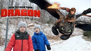 How to Train Your Dragon 3: The Hidden World Rescue Toothless Part 3 with Chase and Cole Adventures