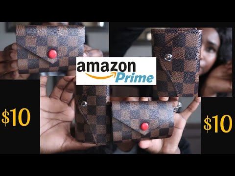 $10 Amazon Dupe For The LV 6 Key Holder And Mini Wallet|Designer Dupes|Chocolate Soup 2019