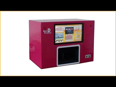 Professional digital nail printer digital nail art printer machine with computer