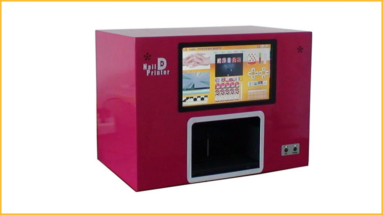 Professional digital nail printer digital nail art printer machine ...