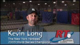 Kevin Long Hitting Camp at Roundtripper
