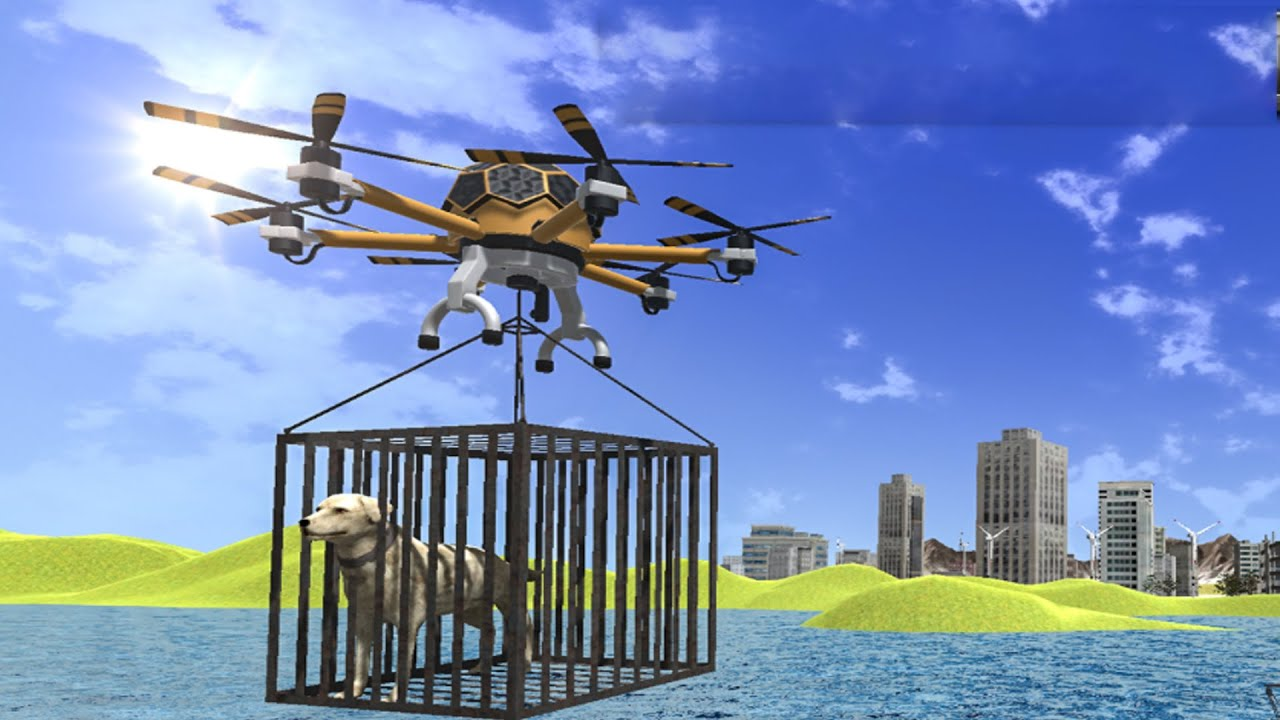 Animal Rescue Games 2020: Drone Helicopter Game - Android games