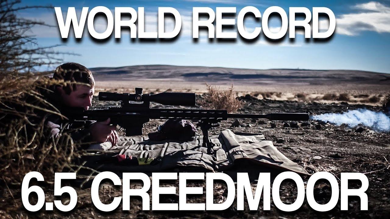 Download Longest Recorded Shot w/ 6.5 Creedmoor: How Far Will it Go??