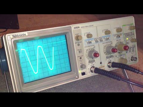 New Tektronix 2213A oscilloscope off ebay