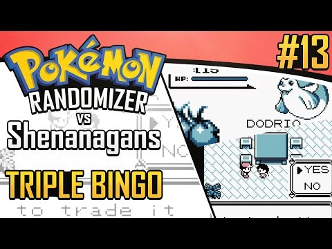 Pokemon Randomizer Triple Bingo vs. Shenanagans #13