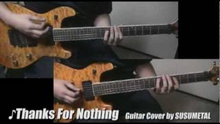 Sum 41 - Thanks For Nothing (Guitar Cover ★ Lead & Rhythm)